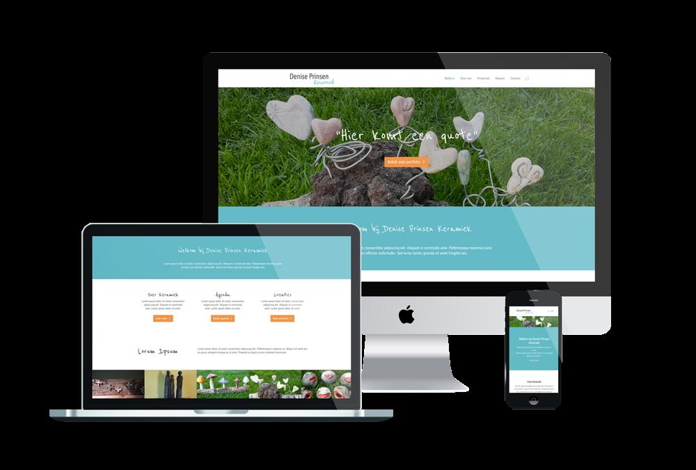 Nieuwe website Denise Prinsen