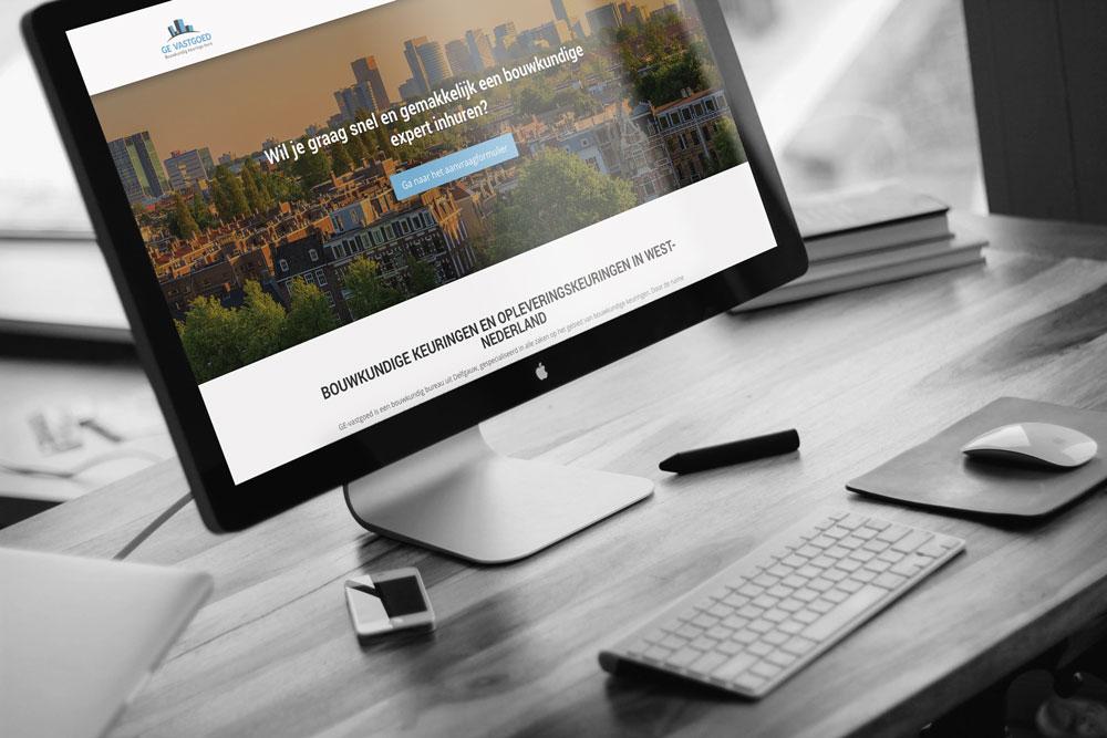 Nieuwe website GE vastgoed