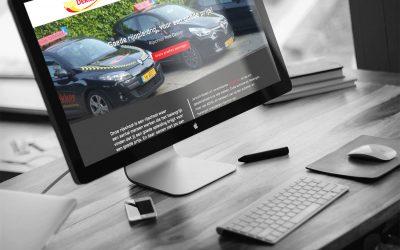 Nieuwe website Rijschool Rob Dekker!