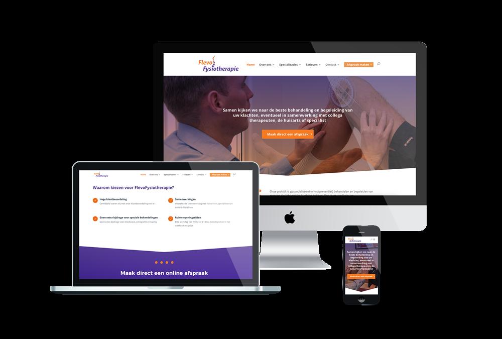 Website FlevoFysiotherapie