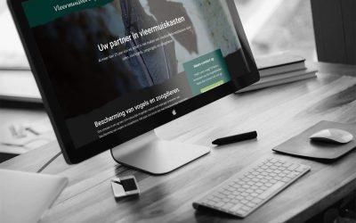Nieuwe website voor Vleermuisverblijf.nl