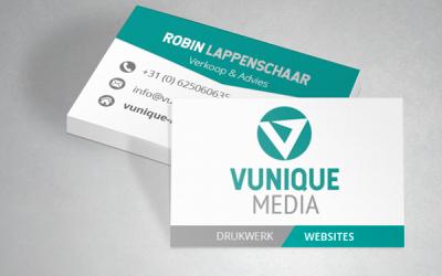 Nieuw logo voor Vunique Media!