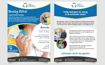 Nieuwe flyers voor Sport Federatie Berkelland