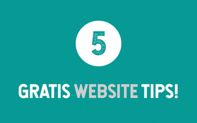 5 tips om meer uit jouw website te halen