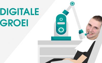 De digitale groei: Een robot die in mijn gebit een kies gaat boren? No thanks!