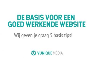 Nieuwe video met website tips online